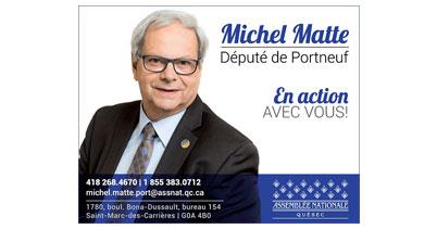 Michel Matte Député de Portneuf